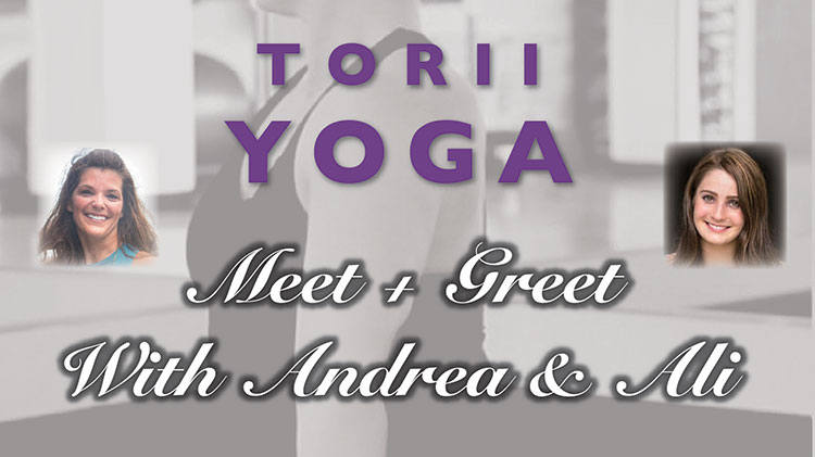 Meet+Greet with Andrea & Ali