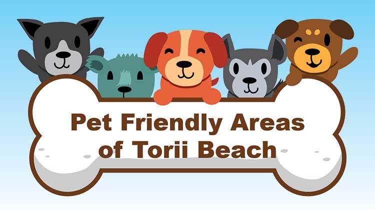 Pet Friendly Areas of Torii Beach