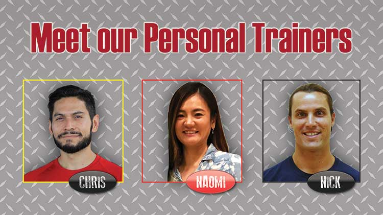 Meet Our Personal Trainers at Torii Physical Fitness Center