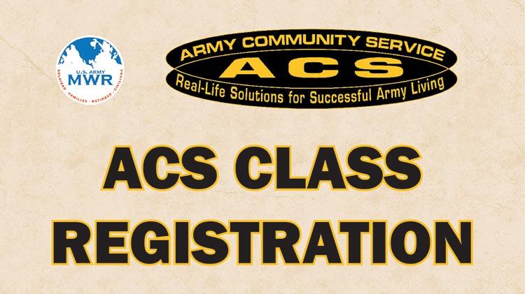 Register for an ACS Class