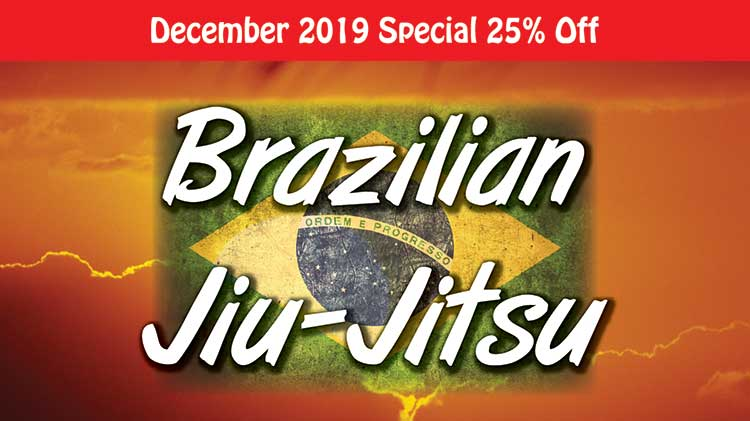 December 2019 Special Discount for Brazilian Jiu Jitsu with Nic Cartwright