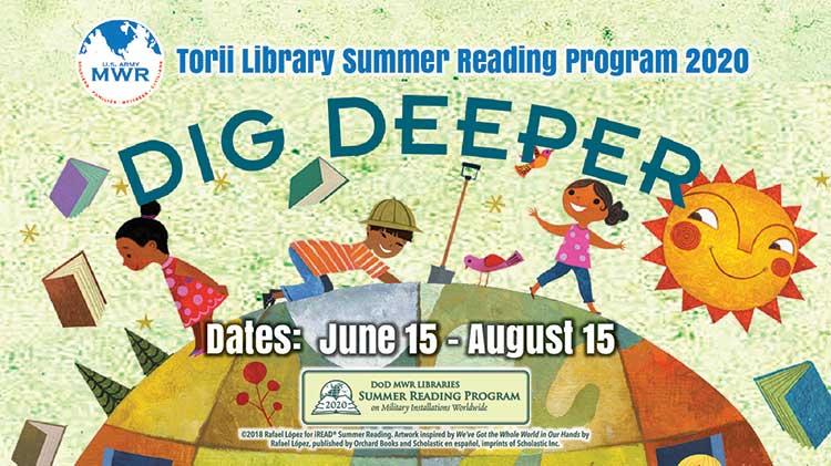 Torii Library 2020 Virtual DoD Summer Reading Program