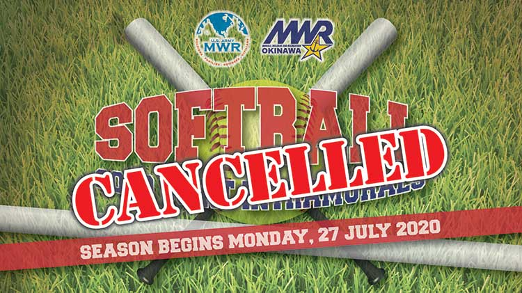 2020 Joint Army-Navy Intramural Softball League CANCELLED