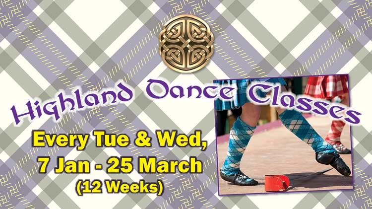 Highland Dance Classes for Adults & Children Start January 2020