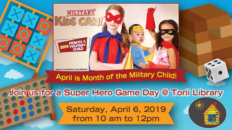 Super Hero Game Day @ Torii Library