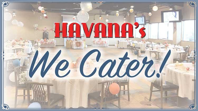 Havana's Catering