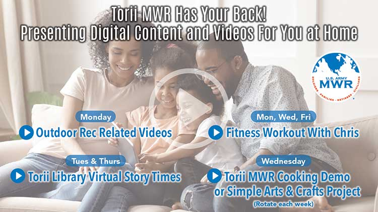 Torii MWR Has Got Your Back Featuring Digital Content Videos For You At Home