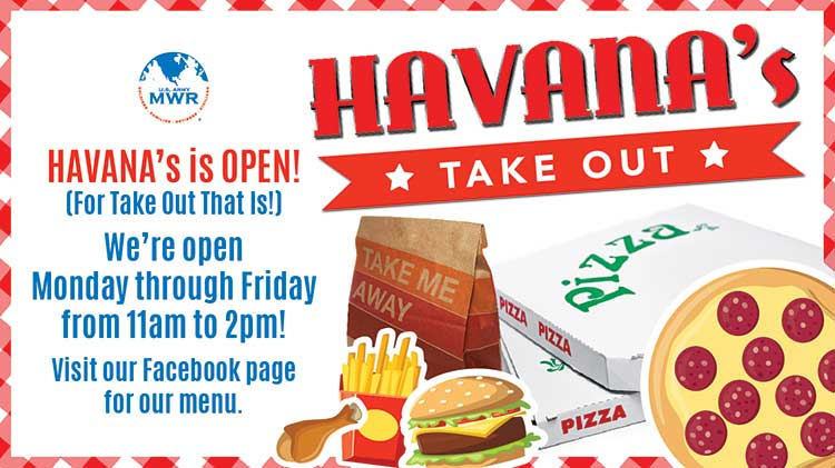 """Havana's Is Open (For Take Out) During HPCON """"C"""""""