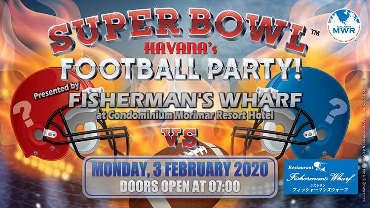 Super Bowl (TM) Football Party at Havana's
