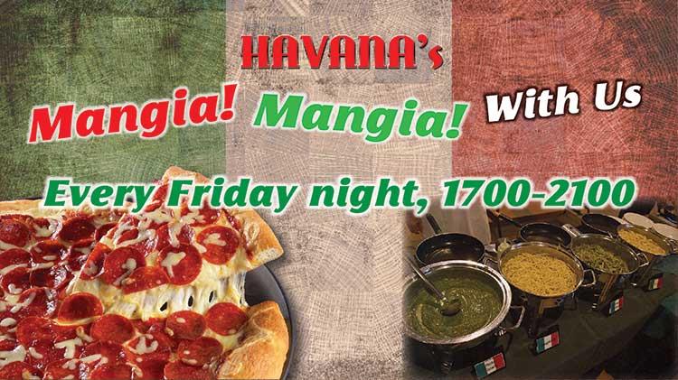 Dinner + A Movie Night at Havana's!