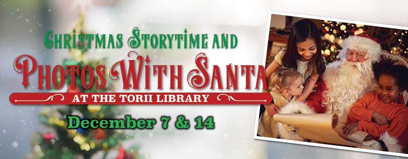 Christmas Storytime and Photos with Santa