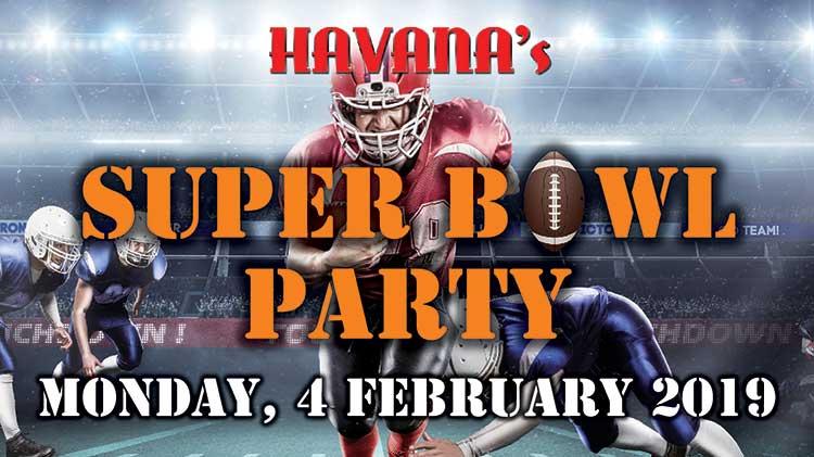 Havana's Super Bowl Viewing Party