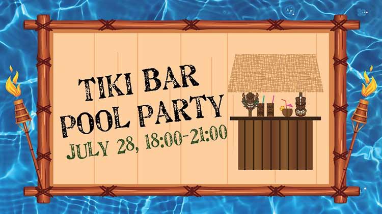 Torii Pool Tiki Bar Pool Party