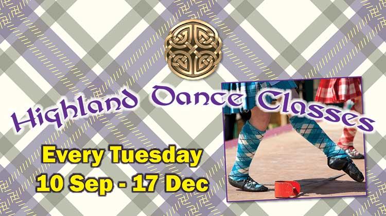 Highland Dance Classes at Torii Fitness Center