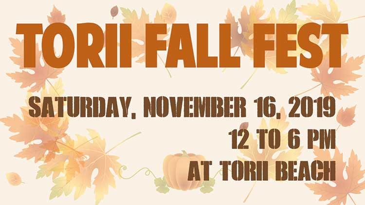 Torii Fall Fest