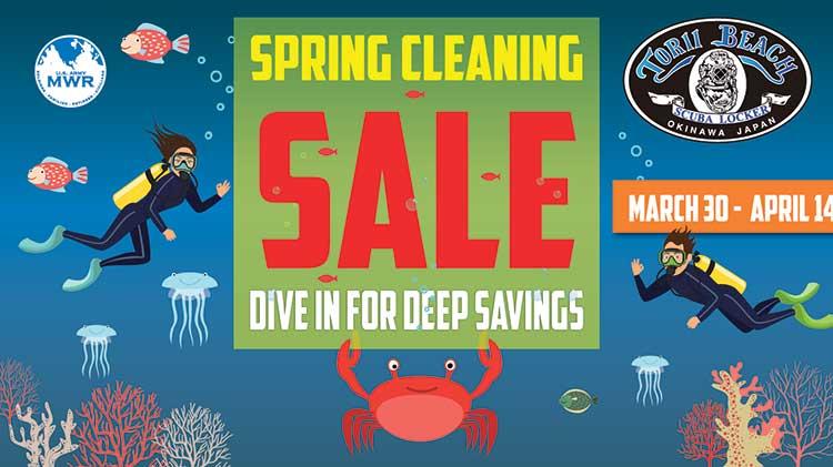 Torii Scuba Locker's Spring Cleaning Sale