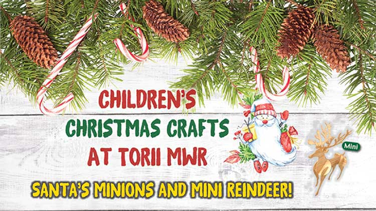 Childrens Christmas Crafts.Us Army Mwr View Event Children S Christmas Crafts