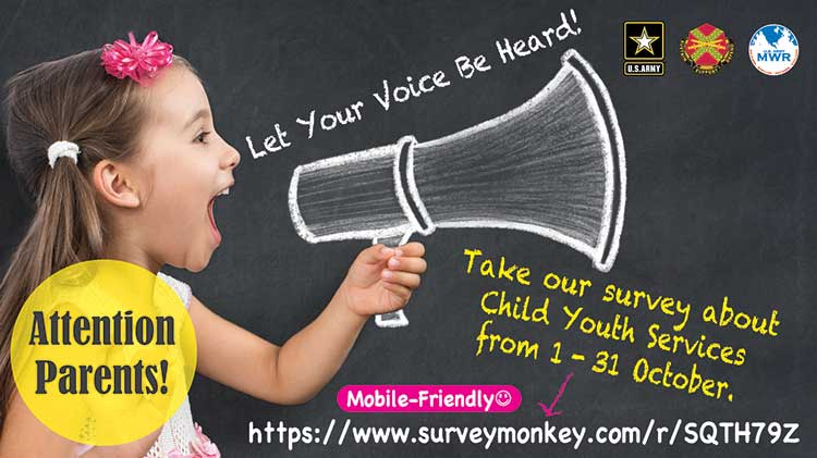 Let Your Voice Be Heard!  Fill Out the Child & Youth Services Climate Survey!