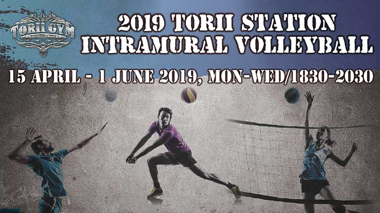 2019 Torii Station Intramural Volleyball