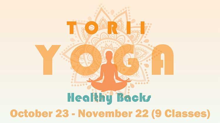 Torii Yoga for Healthy Backs