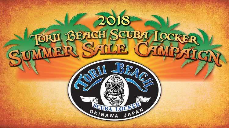 Torii Beach Scuba Locker 2018 Summer Sale Campaign