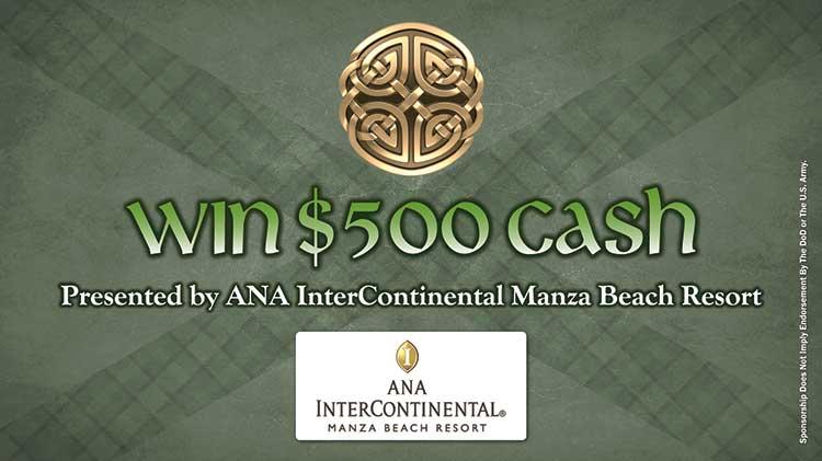Win $500 Cash at Torii Highland Games Presented by ANA InterContinental Manza Beach Resort!