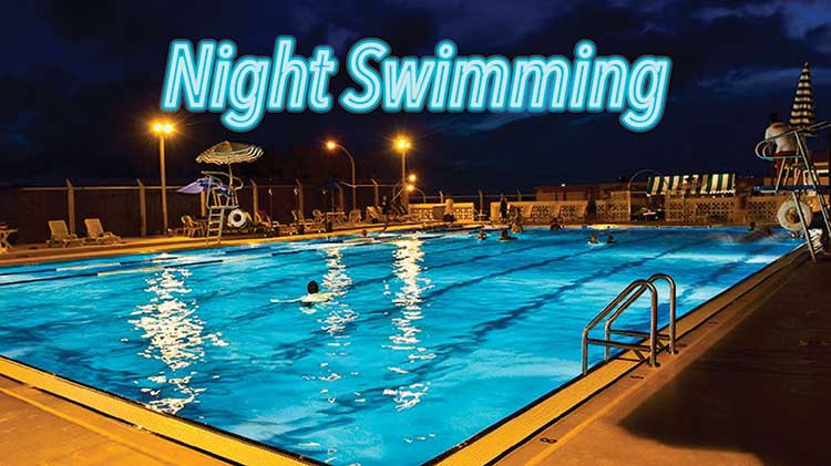 Night Swim at Torii Pool