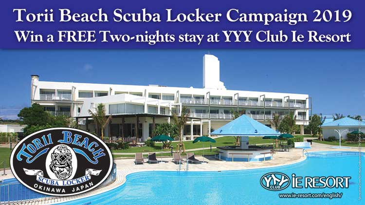 Torii Beach Scuba Locker Campaign 2019