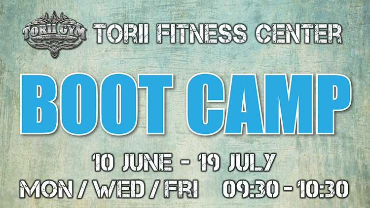Summer Boot Camp with Jessica