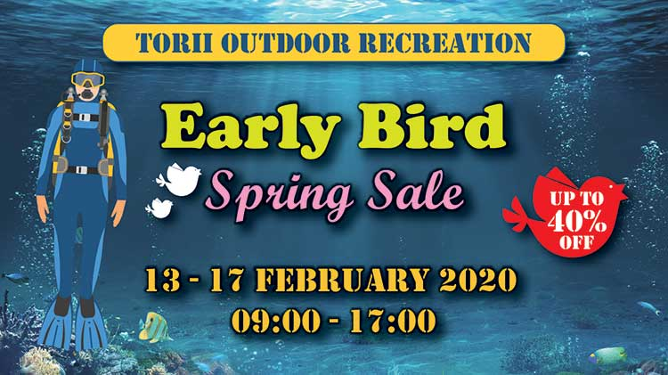 Torii Outdoor Recreation Early Bird Spring Sale