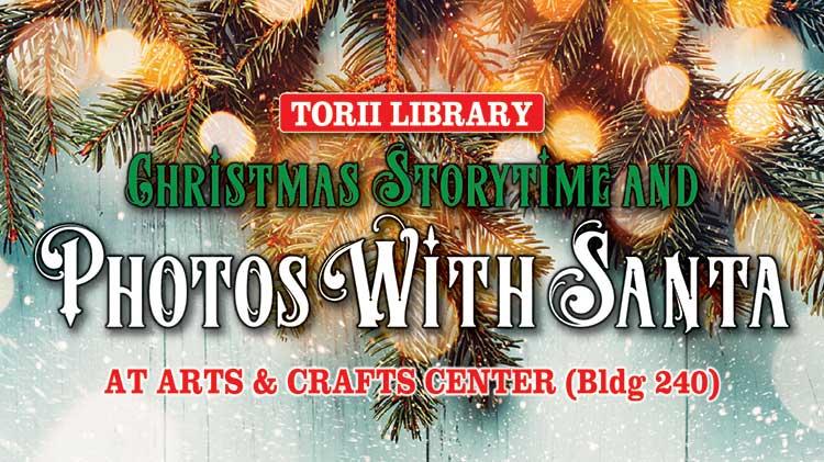 Christmas Storytime and Photos with Santa