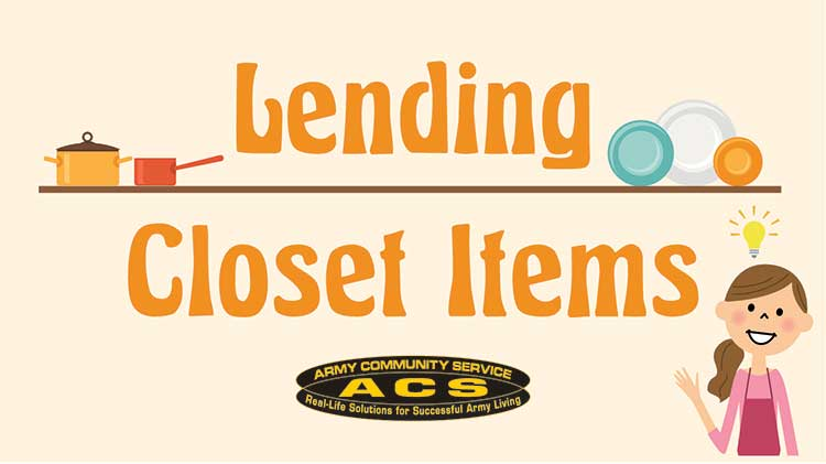 ACS Lending Closet - The next best thing for your home