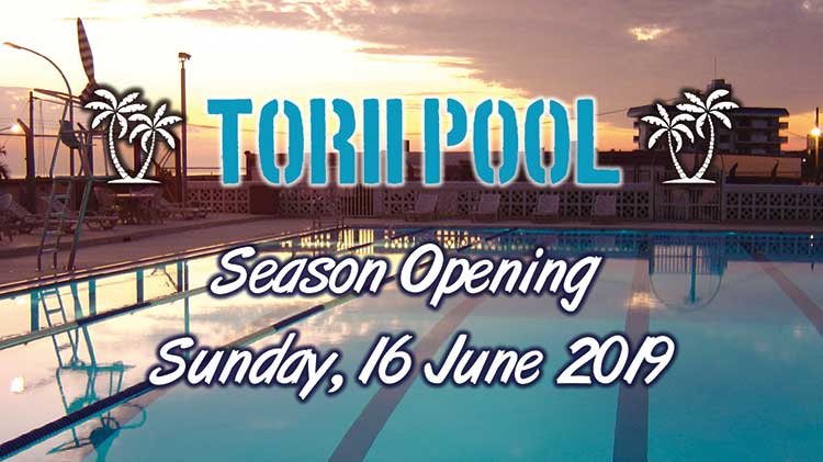 Torii Pool Opening Date Announced