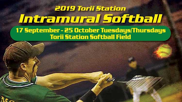 2019 Intramural Softball Season