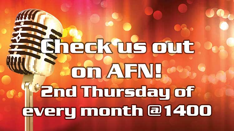 Hear us on AFN!