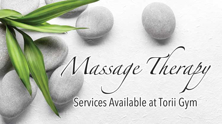 Massage Therapy Services Now Available at Torii Gym