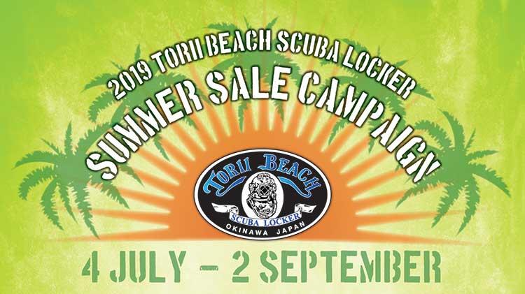 2019 Torii Beach Scuba Locker Summer Sale Campaign